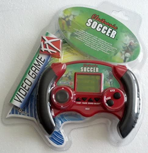 Electronic Handheld Soccer Video Game Fx by Toy Quest