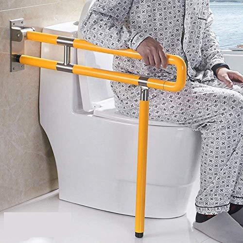 SXFYGYQ Acero Inoxidable De La Barandilla De Seguridad Accesible Ancianos para Minusválidos Cuarto De Baño Inodoro Bowl Antideslizante Manija Plegable