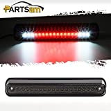 95 chevy 1500 parts - Partsam Third Brake Light Replacement for Chevy/GMC 1994-1999 C/K 1500 2500 3500 Red/White LED Smoke Lens High Mount 3rd Brake Light Rear Tail Cargo Lamp