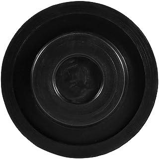 65 x 33 mm slitsad icke-fasthållande cylinderform gummi domkraft dyna för hopper lager soptunna uttag