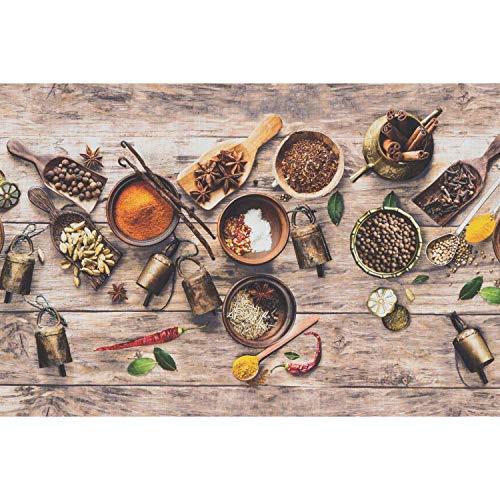WohnDirect Passatoia Funzionale da Interno Fino a 10 m di Lunghezza – Tappeto Cucina – Passatoia per la Cucina Durevole, Antiscivolo e Facilmente Lavabile – Tappeto Bagno – Cat — 50x220cm