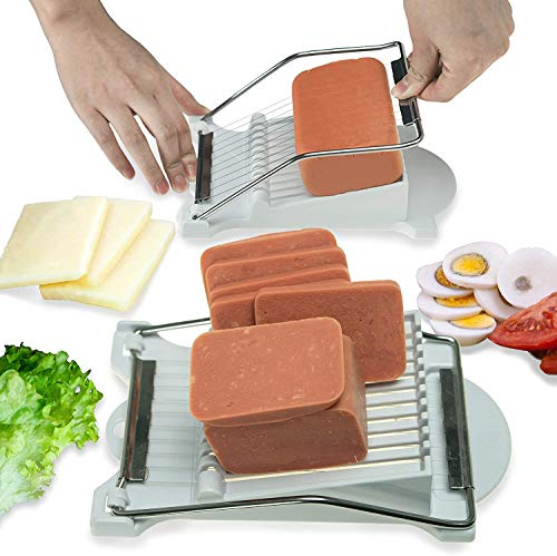 Luncheon Meat Slicer Cheese Slicers | 10 Wires Stainless Steel