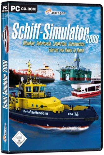 Schiff-Simulator 2008 - Öltanker, Bohrinseln, Ladekräne, Ozeanwellen, Fahrten von Hafen zu Hafen