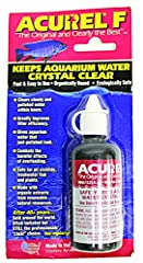 Acurel F removes suspended particles that make your water dirty and greatly improves filter efficiency Just a few drops clear cloudy and polluted water within hours Enjoy sparkling clear water all the time