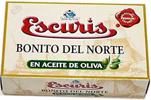 Bonito del Norte (Tonno bianco) costiero in olio d'oliva, in scatola da 81 g