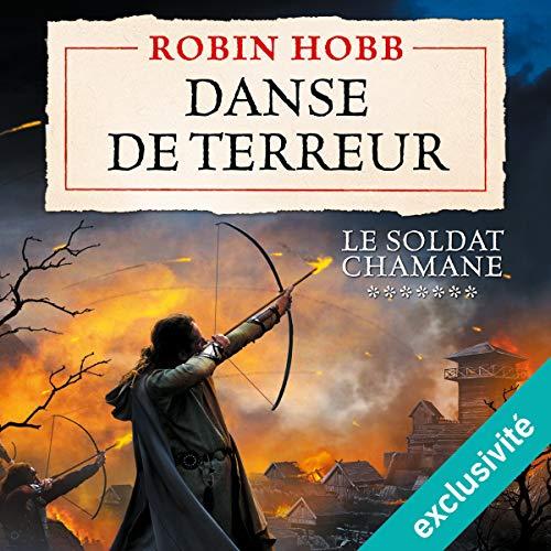 Danse de terreur audiobook cover art