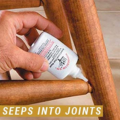 Wonderlockking 208113 Tite Chairs by PC Products, Instant Loose Chair Joint & Furniture Repair Adhesive, 20 Gram Bottle
