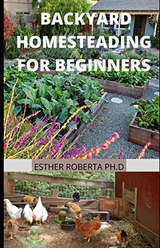BACKYARD HOMESTEADING FOR BEGINNERS: Basics Guide for Self-Sufficiency (Creative Homeowner) Turn Your Yard into a Productive, Sustainable Homestead: Fruit, Veg, Chickens, and More
