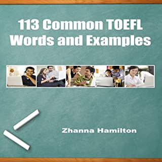 113 Common TOEFL Words and Examples Titelbild