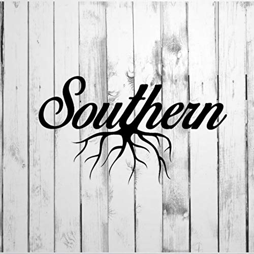 DONL9BAUER Decal, Southern Home Grown (Centered Roots) Car Stickers Vinyl Auto Scratch Cover Car Decal for Home Truck Computer Laptop Travel Case Tumbler Door Window Bumper Decor
