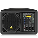 "Active 150-Watt 6.5"" PA/Monitor Speaker System with MP3 Player"