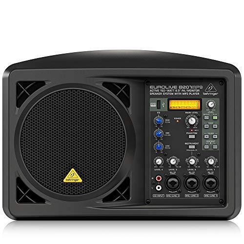 Behringer Eurolive B207MP3 Portable PA Speaker
