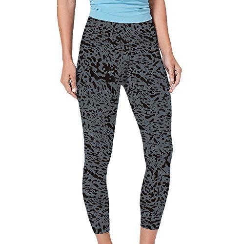 ZYYM Yoga Pants Gedruckt hohe Taillen-Power Capris Workout Gamaschen Fitness Laufen Damen Sport Leggings Yoga Hose Laufhose Fitnesshose Jogginghose Bedruckte Yogahose Running Soport Leggings