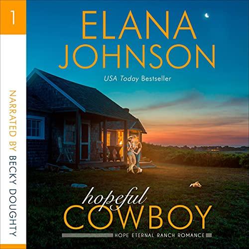 Hopeful Cowboy Audiobook By Elana Johnson cover art