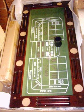 Kunibert Pokerspieltischbar – Poker/Roulette/Würfel/Blackjack/Theke - 3