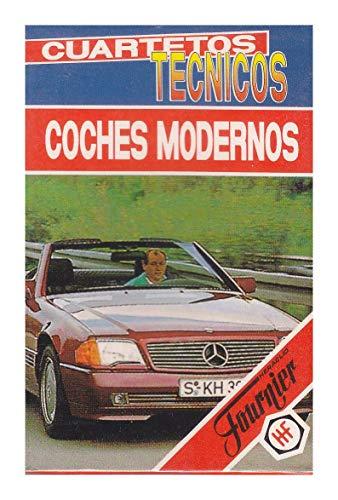 Baraja Cuartetos Técnicos Coches Modernos 1993 Fournier