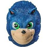 Sonic Mask Sonic The Hedgehog Cosplay Costume Latex Helmet for Adult Halloween