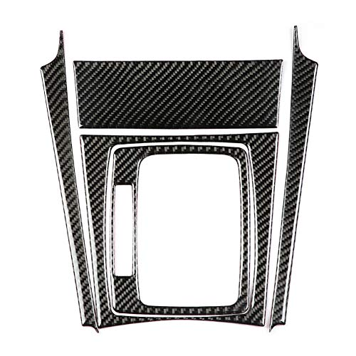 Schalttafelabdeckung, Yctze Auto Gangschaltung Kohlefaser Panel Abdeckung Trim Ersatz für W204 C Klasse 07-13(links) für carbon innenraum c klasse,c63 w204 carbon gear shift für mercedes c klasse w205