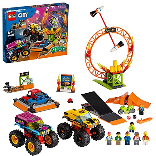 LEGO 60295 City Stuntz Stuntshow-Arena,...