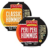 Ready to Eat Classic and Peri Peri Hummus Sauce dip Low Fat and Gluten Free - Pack of 2 100gm Each
