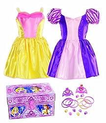 dress up box for girls, princess dresses