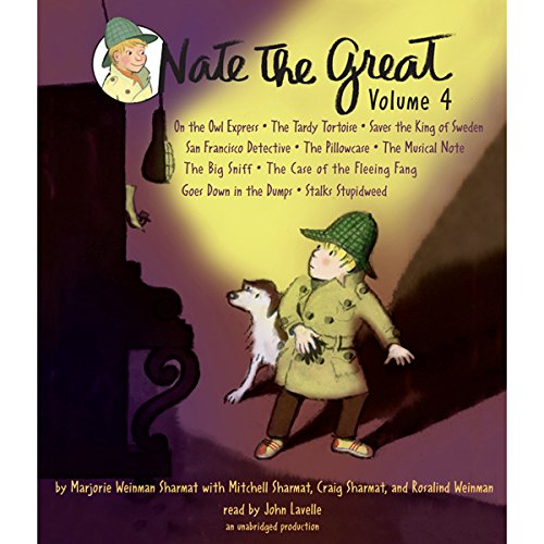 『Nate the Great Collected Stories: Volume 4』のカバーアート