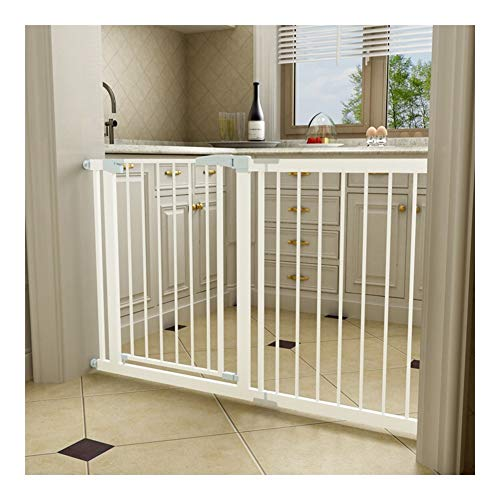 Find Discount AGLZWY Baby Fence Divider Gate Safety for Stairs Expandable Room Divider Auto-Close Wa...