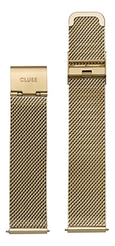 Cluse Damen Armbanduhr Zubehör Metallbänder Edelstahl La Bohème Strap Mesh CLS046
