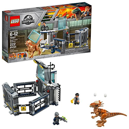 LEGO Jurassic World Stygimoloch Breakout 75927 Building Kit (222 Pieces) (Discontinued by...