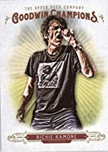 2018 Upper Deck Goodwin Champions #5 Richie Ramone Vertical Trading Card
