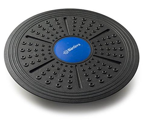 bintiva Adjustable Balance Board, Extra Wide Diameter, for Fitness, Balance, and Stability Training