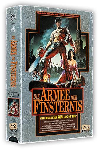 Die Armee der Finsternis - 3-Disc VHS-Box - Cover A - Limited Edition auf 500 Stück - Uncut (Wendeposter) [Blu-ray]