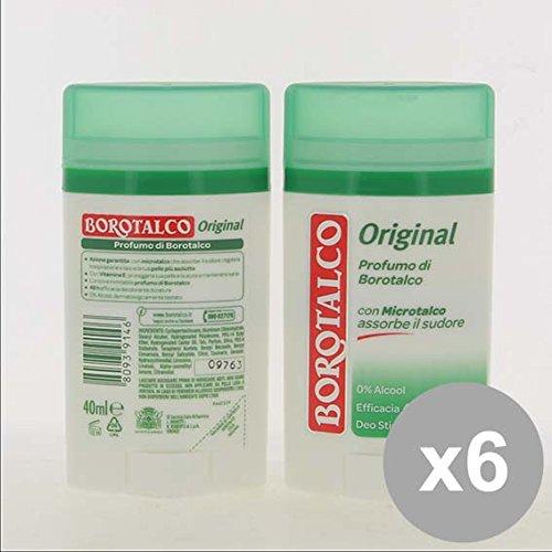 Set 6 BOROTALCO Deodorante Stick 40 Original Deodoranti per il corpo