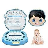Caja para Dientes de Bebé, Caja para Guardar Dientes de Leche de Niño y Niña, Fabricación Artesanal