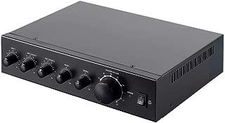 Monoprice Commercial Audio 60W 3ch 100/70V Mixer Amp (No Logo)