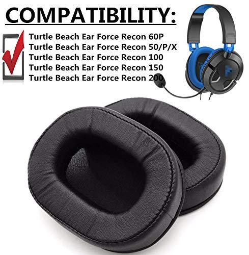 Ersatz-Ohrpolster für Turtle Beach Ear Force Recon 60P 60P Kopfhörer Ohrenschützer Cover