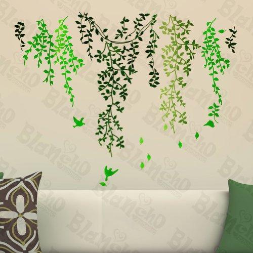 Rideau Vert à – Stickers muraux autocollants maison d ¨ ¦ cor