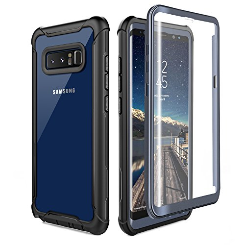 Samsung Galaxy Note 8 Cell Phone Case - Ultra Thin Clear Cover with...