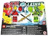 B LEGO Ninjago Kai vs Lasha Minifigure Blister Set 112008
