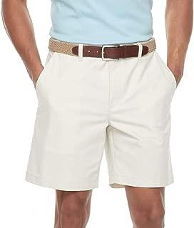 Men's Classic-Fit Stretch Flex-Waist Flat-Front Shorts