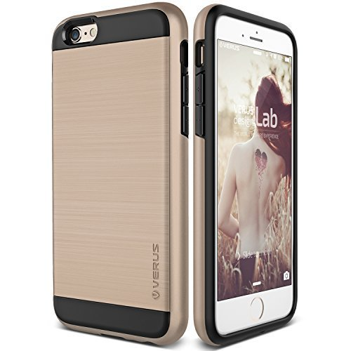 iPhone 6S Case, Verus [Verge][Champagne Gold] - [Heavy Duty][Military Grade Drop Protection] For Apple iPhone 6 6S 4.7