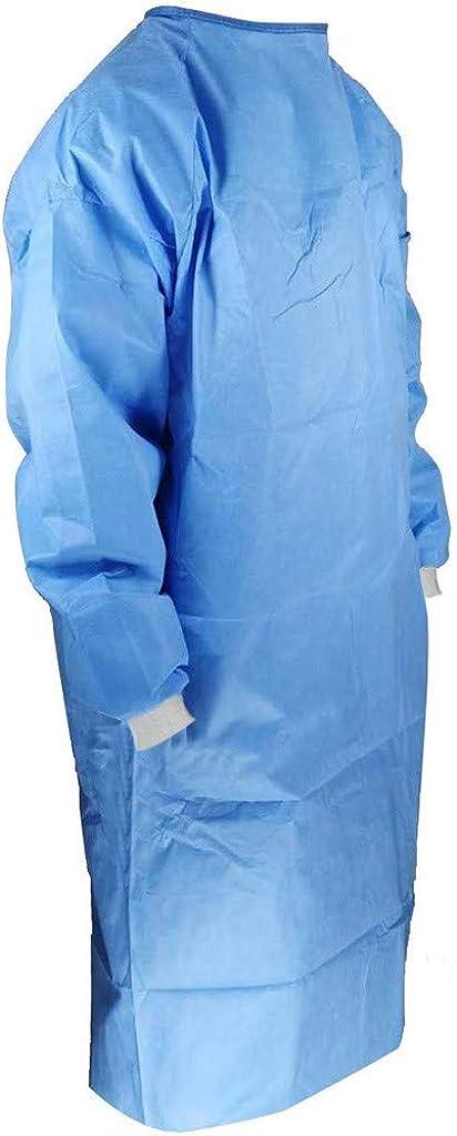 Wekdeg V/êtements de Protection Unisexe r/éutilisables Anti-bu/ée poussi/ère R/ésistant aux /éclaboussures dhuile Combinaison Blouse V/êtements adapt/és Usines Label