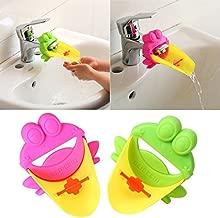 bocca estesa extender rubinetto bagno di lavaggio delle mani della famiglia Faucet splash head cartoon bambini I;