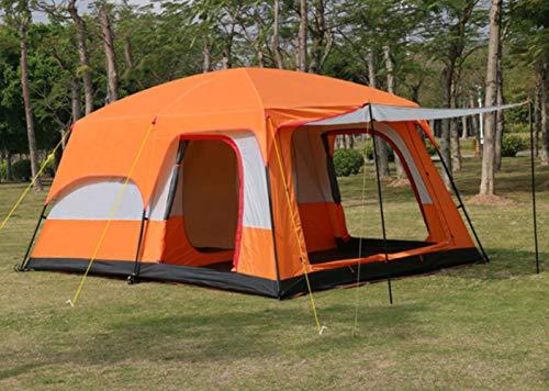 Camel Ultralarge 6 10 12 Doppio Strato Esterno 2living Camere e 1hall Famiglia Tenda Da Campeggio In Grande Spazio Tenda