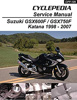 Amazon Com Suzuki Gsx600f Gsx750f Katana Service Manual Ebook Cyclepedia Press Llc Kindle Store