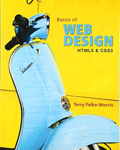 Basics of Web Design: HTML5 and CSS3