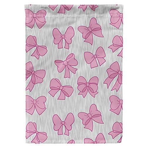Regenboog Regels Tuin Vlag - Marie Aristocats Disney Geïnspireerd Large Garden Flag 28x40in roze