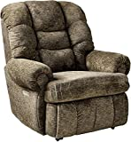 4501P Lane Stallion Big Man Comfort King (Power Recline) Wallsaver Recliner in Cafe. Made for The Big Guy Or Gal. Rated for Up to 500 Lbs. Extended Length. 79 Inches. Seat Width. 25' (Large).