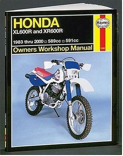 Haynes Honda Xl600/Xr600: 1983 Thru 2000: 1993-2000 (Haynes Owners Workshop Manuals)