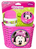 Stamp Disney Minnie Mouse Basket and Drinking Bottle
